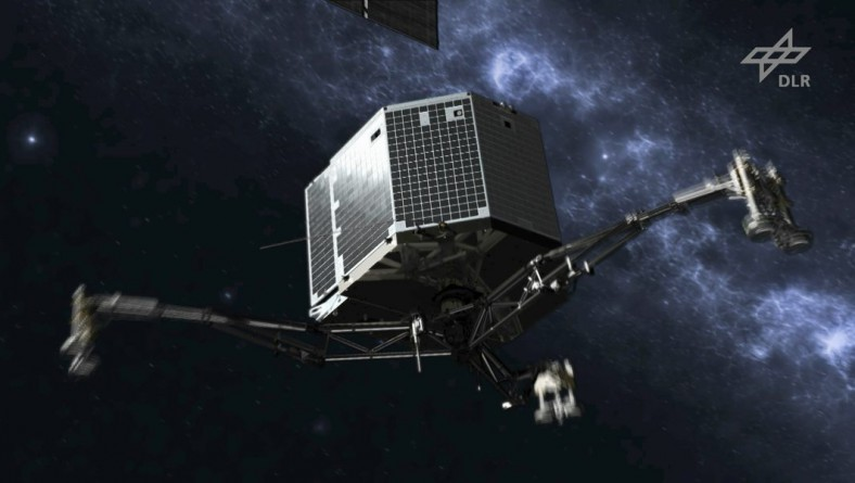 Landing on a Comet: The Rosetta Mission